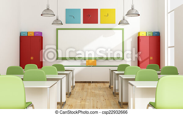 Aula colorida - csp22932666