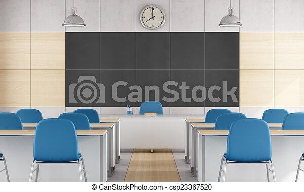Aula moderna - csp23367520