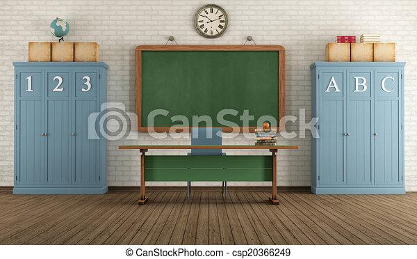 Retro aula - csp20366249