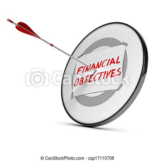 Conseguir objetivos financieros - csp17110708