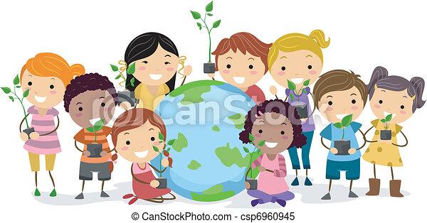 La diversidad cultural - csp6960945