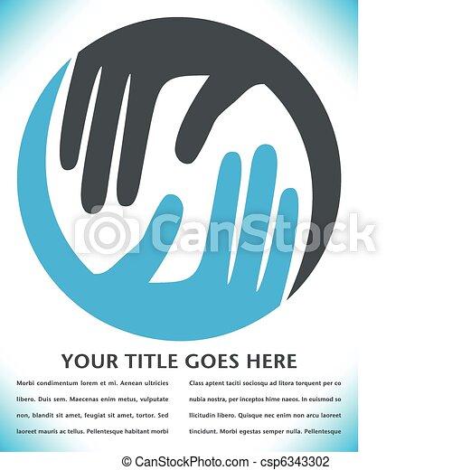 Diseñando manos. - csp6343302