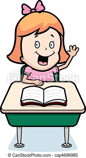 Estudiante infantil - csp4696985