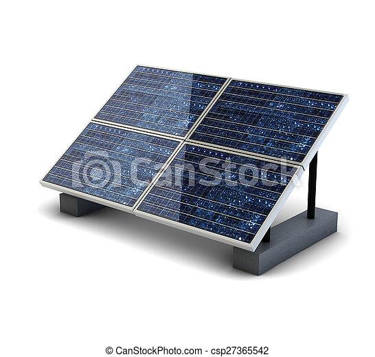 Panel solar - csp27365542