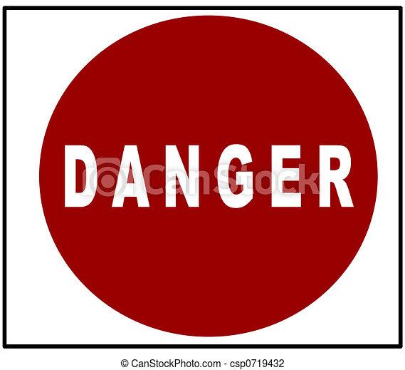Señal de peligro - csp0719432