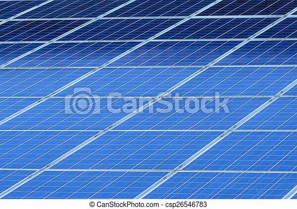 Textura de panel solar - csp26546783