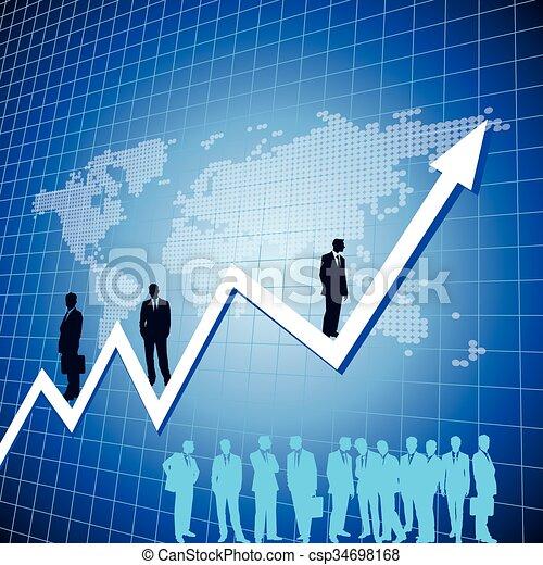 Un concepto de crecimiento - csp34698168