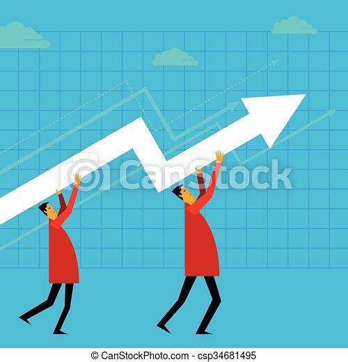 Un concepto de crecimiento - csp34681495