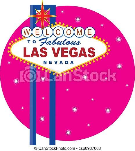 Signo de Las Vegas - csp0987083